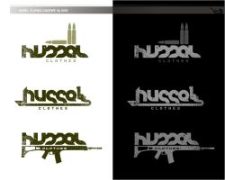 HUSSEL CLOTHES logotype by simcDT