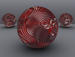 3D Wavy Spheres by Lyle-the-Hobo