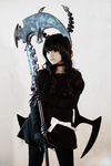 Black Rock Shooter OVA Deadmaster Cosplay by SpicaRy
