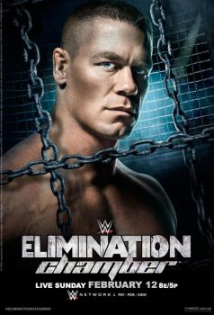 WWE Elimination Chamber 2017 Official Poster by Jahar145