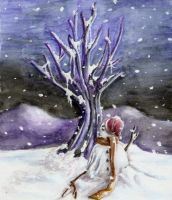 Winter - Loneliness by kago-woo