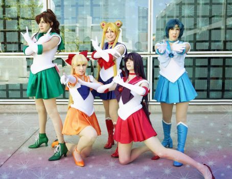 Sailor Guardians by SparklePipsi