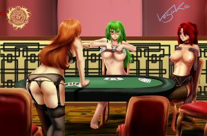 Strip Poker Crossover by Vesaka