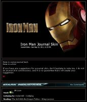 Iron Man Journal Skin by jadefyres-freedom