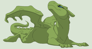 Dragon Lineart 7~Western Dragon 1~ by Xbox-DS-Gameboy