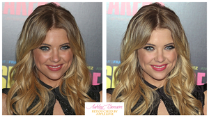 Retouch Ashley Benson by theskyinside
