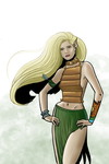 Kyri Thunderhead from Endstone by quillcrow