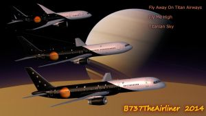 Fly Away on Titan Airways by B737TheAirliner