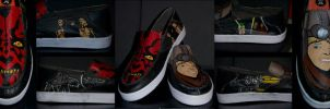 Star Wars Shoes by aarontheawesome