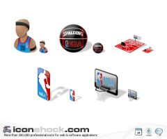 NBA Vista icons by Iconshock