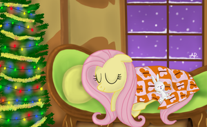 Holiday at Fluttershy's by sgtgarand