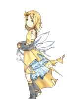 Kagamine Rin by miNthiMe