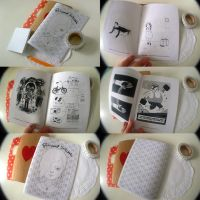 Borrowed Suitcase zine by perfectnoseclub