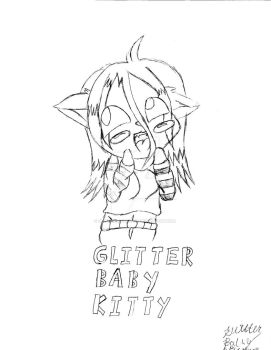 pervy face badge glitterbaby by GlitterbabyKitty