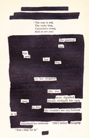 Blackout Poetry 4 by ClassyWalruses