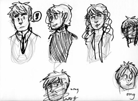 sketches :B by space--cat