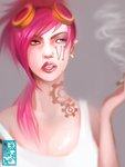 VI's Day off. by OctoGear