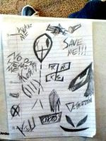 My doodles. by Diblet