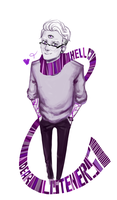 Night Vale - Scarf by KlodwigLichtherz