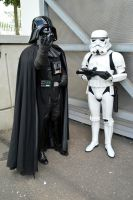 Darth Vader and Stormtrooper at the NSC 2015 by masimage