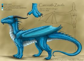 Carenath - Avatar sheet by silvermoonnw