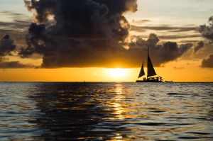 Sunset Aruba by justThorvald
