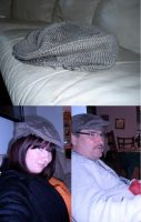 Knitted Irish Cap by Rose-Vicious