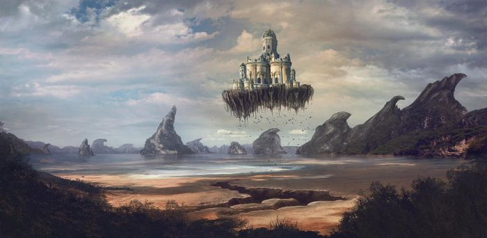 flying cathedral by stgspi
