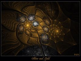 Silver And Gold by Brigitte-Fredensborg