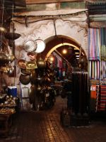 Nooks of Marrakesh by CanisDiabolos