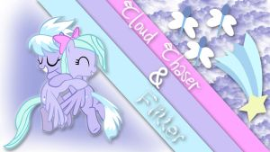 Cloudchaser And Flitter Wallpaper. by Winter-218