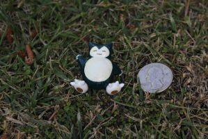#143 Snorlax by AnnalaFlame