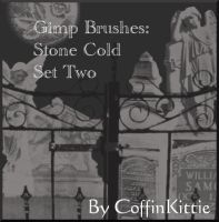 Gimp Brushes: Stone Cold 2 by coffinkittie