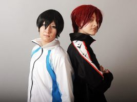 RinHaru cosplay 1 by Shiera13