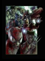 Marvel Zombies by Draw4u