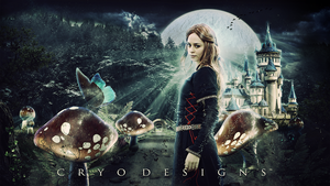 Alice in Wonderland Photomanipulation by CryoGfx