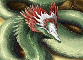 Feathered Serpent by quinnk