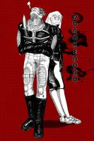 Dorohedoro - Two by IIIXandaP