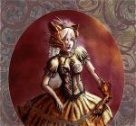 Steampunk Fox Sister by HowlSeage