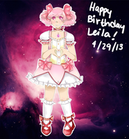 HAPPY BIRTHDAY LEILA by PangoPango1