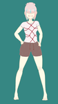 Fang-Yin Fashion - Session Shirt and Shorts by TheBitterSweetPrince