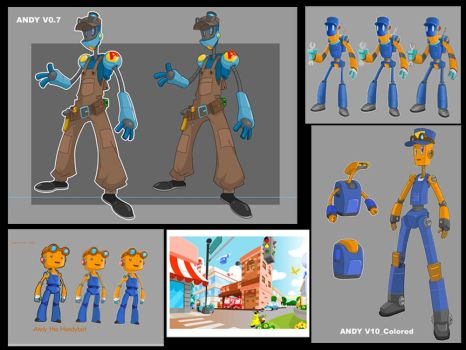 Robot design concept01 by the-tracer