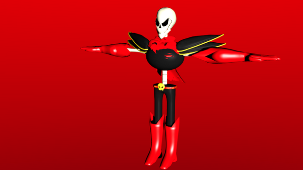Underfell Papiros Is Funished by dj-cool-2000
