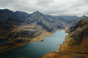 Loch Coruisk , Skye, Scotland by younghappy