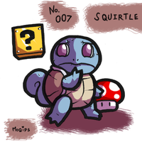 PKMNATHON 007 - Squirtle by mopinks