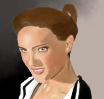 Natalie Portman by darkervapid