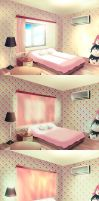 girl's room by Godling-Studio