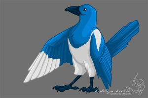 Magpie - digital by tanglehymn