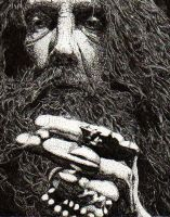 ALAN MOORE UNEARTHING by darthivann