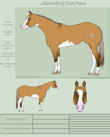 PD Rambling Dutchess - Paint by painted-cowgirl